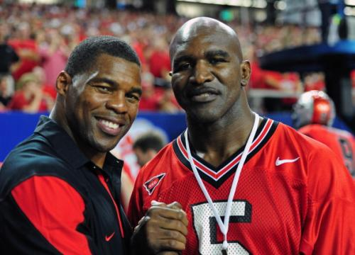 "Herschel Walker: ""When I Was At Georgia, I Never Got Hit Behind The Line Of Scrimmage"""